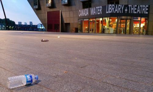 Deal Porter Square , rubbish everywhere