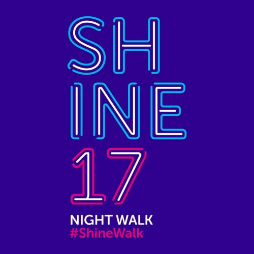 Cancer Research UK Fundraising Shine Night Walk 2017