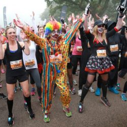 Trick or Treat Run London, supporting Breast Cancer Care