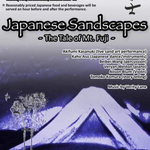 Brunel Museum presents Japanese Sandscapes: The Tale of Mt Fuji