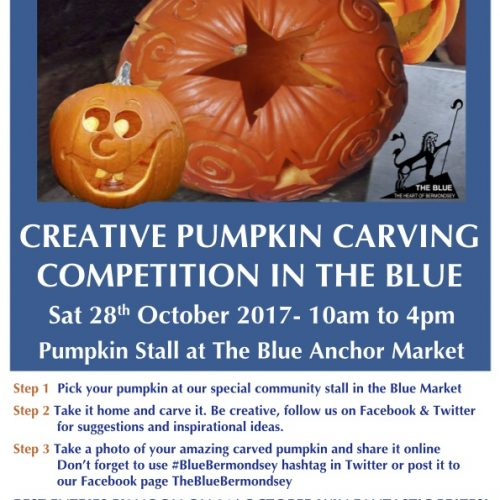 Creative Pumpkin Carving Competition In The Blue
