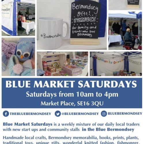 Blue Market Saturdays, more than just shopping
