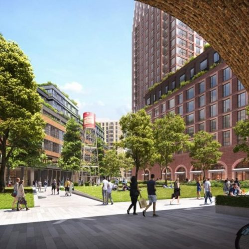 Grosvenor submits plan for £500m investment in Bermondsey
