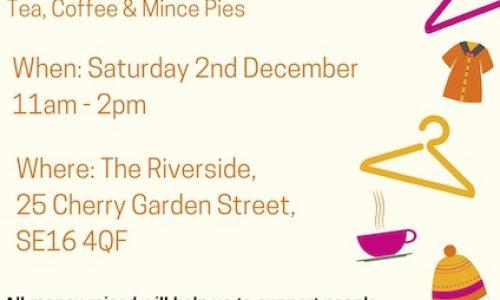 Riverside Centre Jumble Sale in Bermondsey
