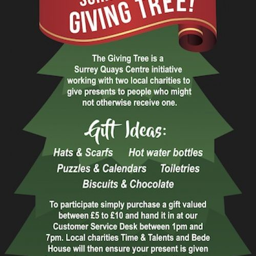Surrey Quays Shopping Centre Giving Tree