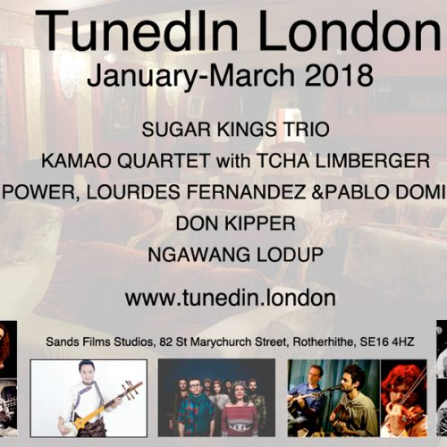 Tuned In London – World Music for winter spring 2018
