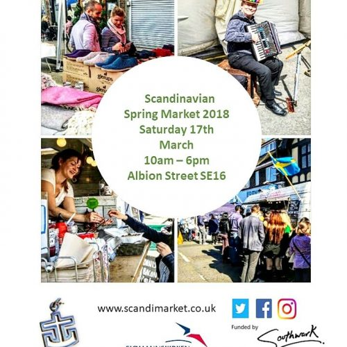 Scandinavian Spring Market 2018 in Rotherhithe