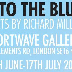 Art exhibition: Into The Blue at Shortwave Cafe