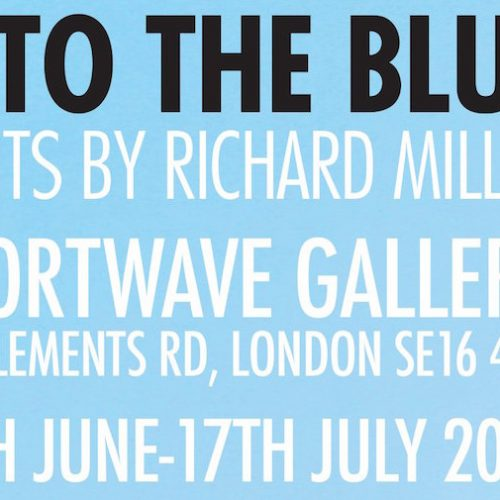 Art exhibition: Into The Blue at Shortwave Cafe