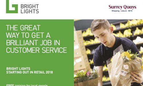 Employment – Retail training taster day and paid work experience opportunities