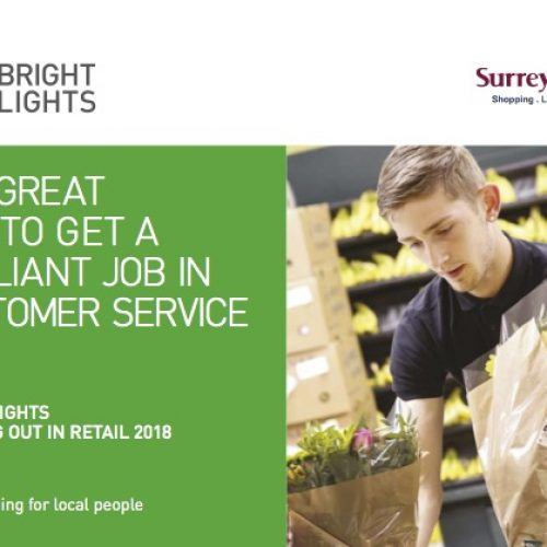 Bright Lights – Starting Out in Retail and Hospitality training programme