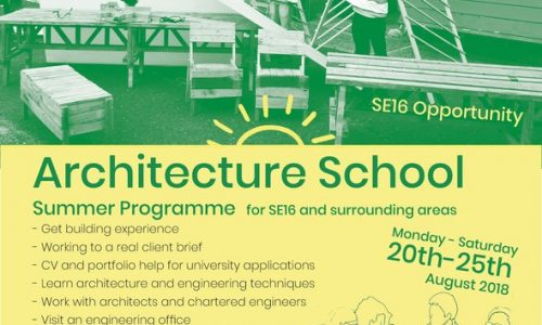 Edible Rotherhithe Architecture  Summer School
