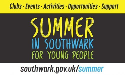 Southwark Summer 2018 Activities for Children and Young People