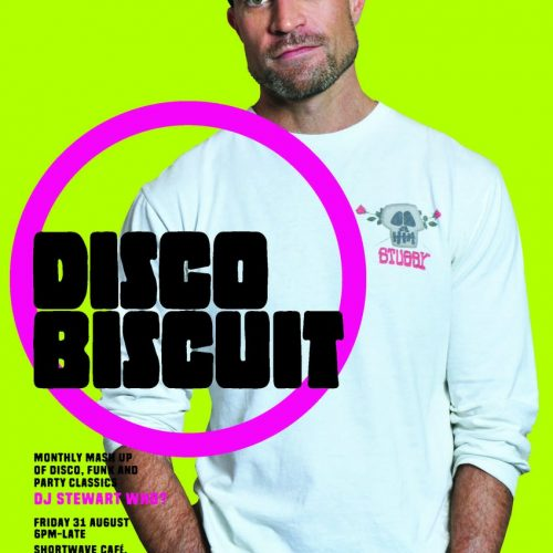 Disco Biscuit at Shortwave Cafe in August