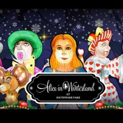 Southwark Park Lantern and Light Festival – Alice In Winterland