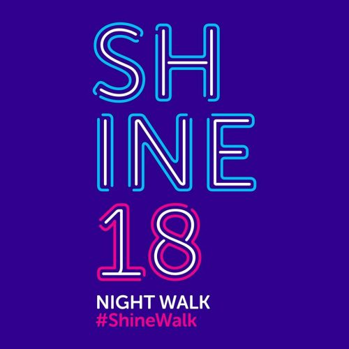 Cancer Research UK Fundraising Shine Night Walk 2018