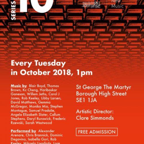 Borough New Music Series 10