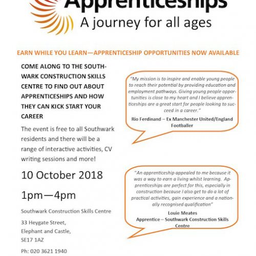 Apprenticeship Programmes, a journey for all ages