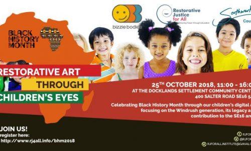 Restorative art through children's eyes