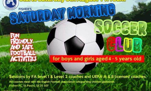 Fisher Football Club Saturday Soccer Club