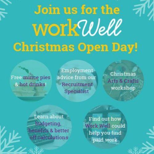 Work Well Christmas Open Day