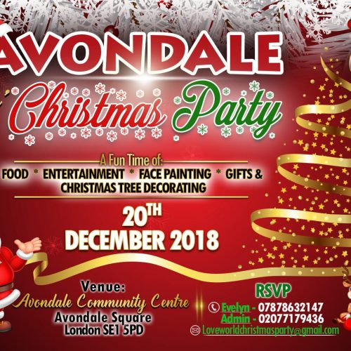 Avondale Kids' Christmas Party