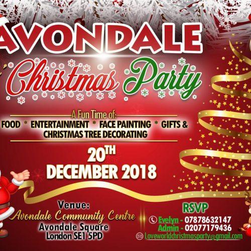 Avondale Kids' Christmas Party