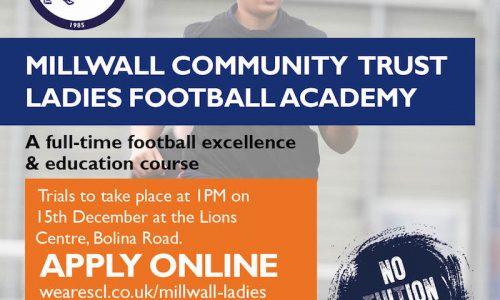 Millwall Community Ladies Academy