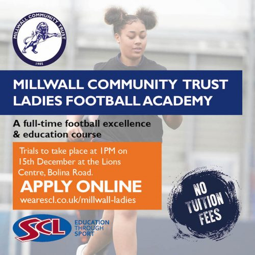 Millwall Community Ladies Academy