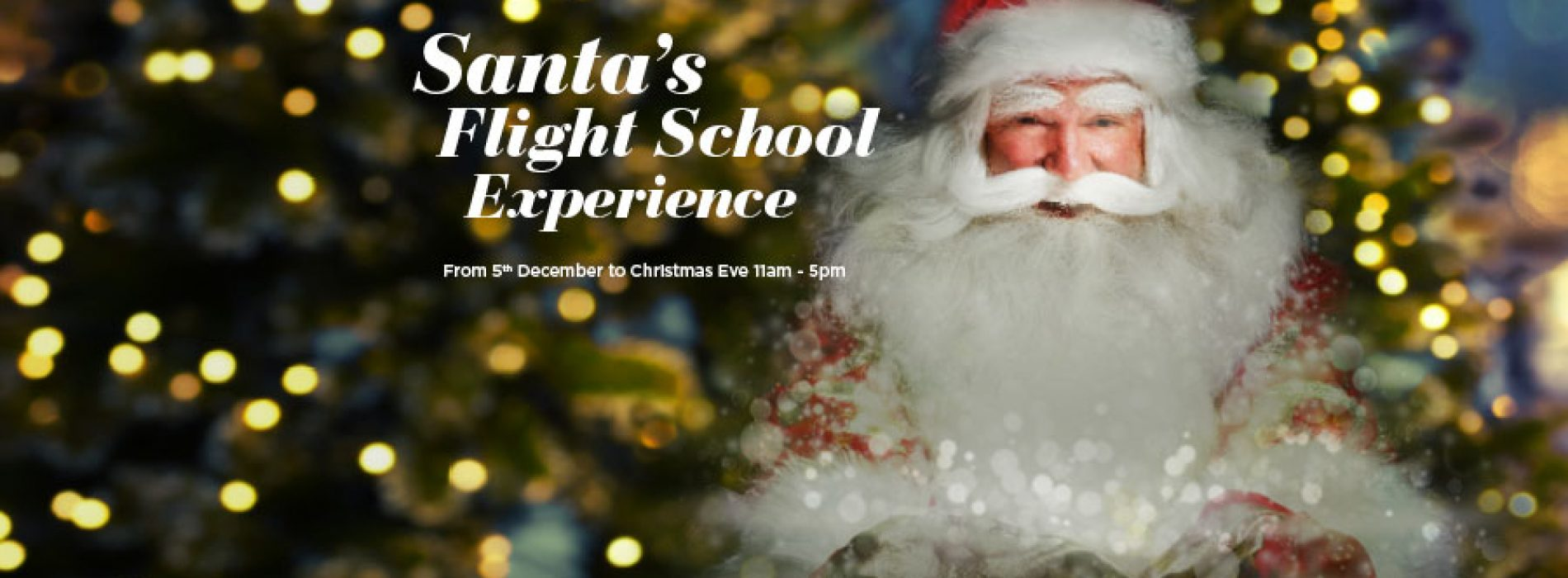 Christmas 2018- Santa's Flight School at Surrey Quays Shopping Centre