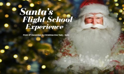 Christmas 2018- Santa's Flight School at Surrey Quays Shopping Centre