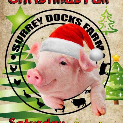 Surrey Docks Farm Christmas Fair 2018