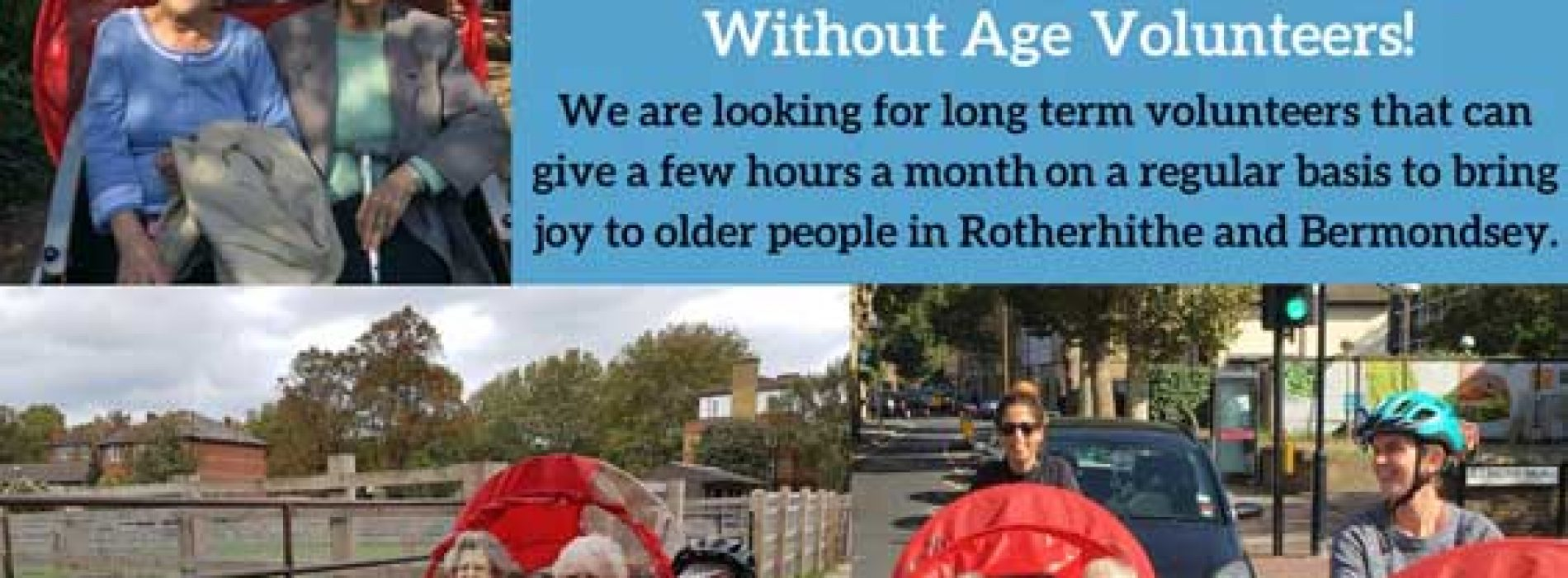 Time and Talents Cycling Without Age: Calling cyclists to volunteer