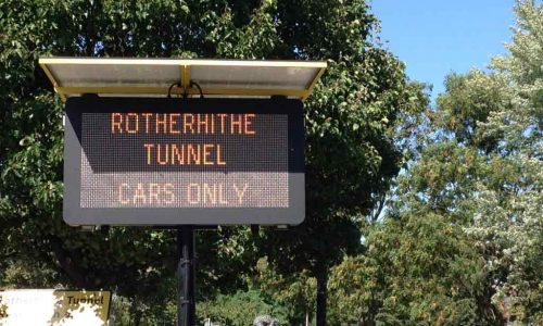Rotherhithe Tunnel Restrictions December Update