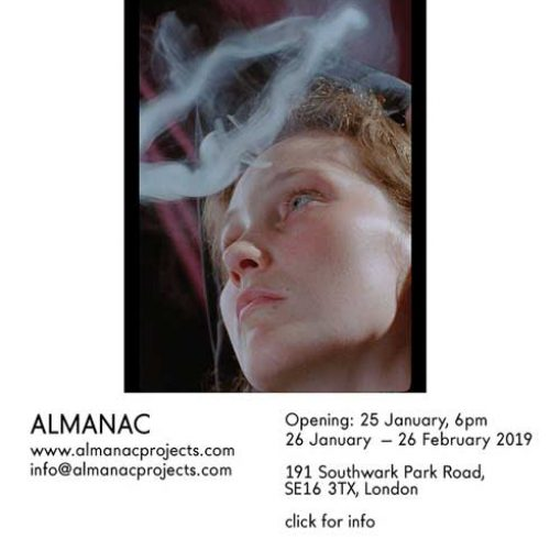 Almanac London present Anna Franceschini Cartaburro
