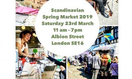 Scandimarket Spring 2019, Scandinavian in Rotherhithe