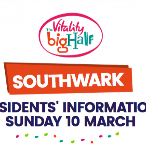 Vitality Big Half 2019, road closures in Rotherhithe