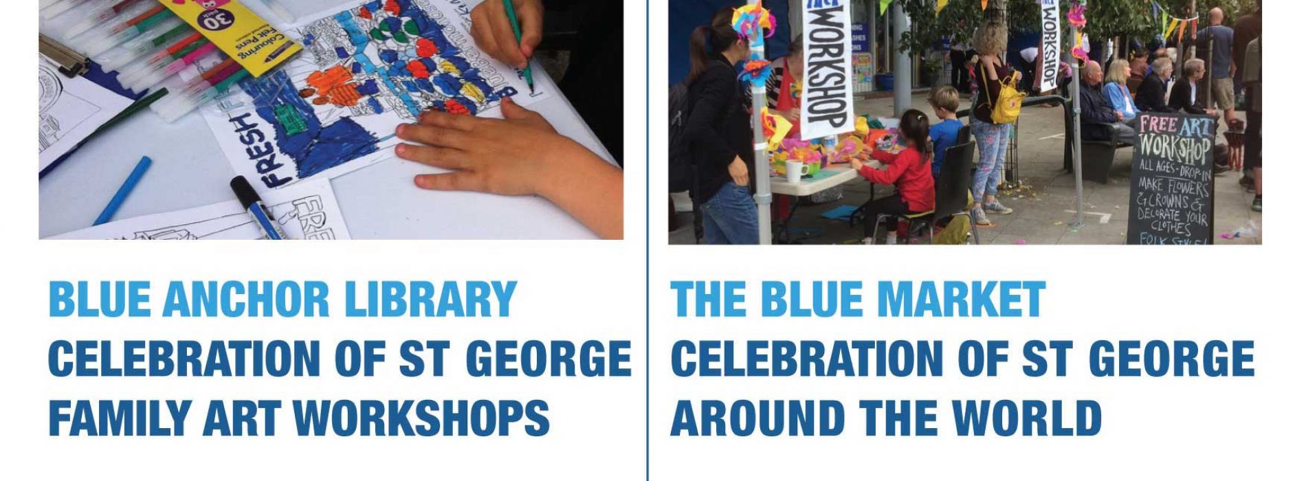 St George and Easter free events in Bermondsey at Market Place SE16