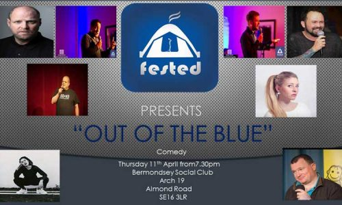'Out Of The Blue' Comedy Night in The Blue in Bermondsey