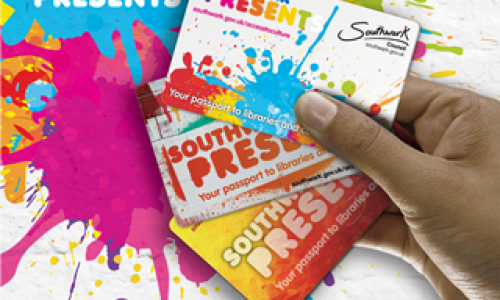 Southwark Presents card, more than culture
