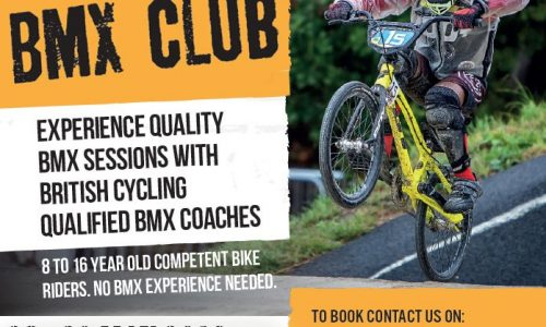 May Half Term BMX Holiday club for young people, 28-30 May 2019