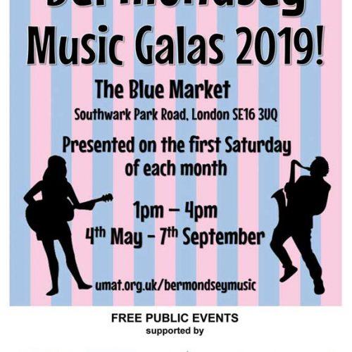 Blue Bermondsey Music Galas in The Blue Market