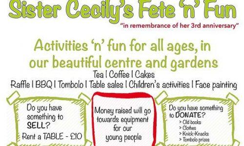 Bosco Sister Cecily's Fete'n'Fun