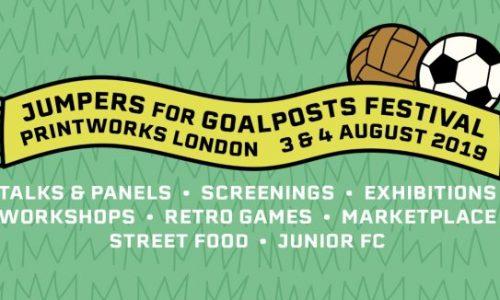 Jumpers For Goalposts Festival at Printworks London