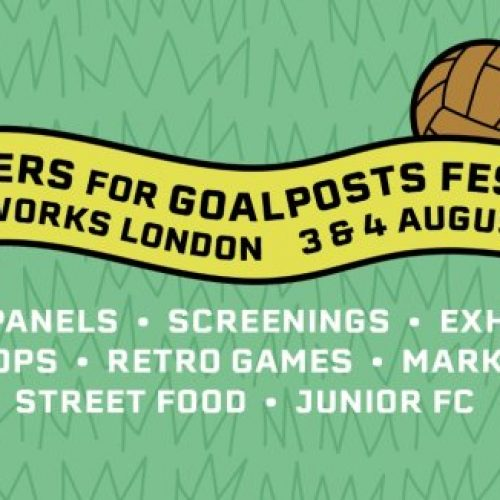 Jumpers For Goalposts Festival at Printworks London