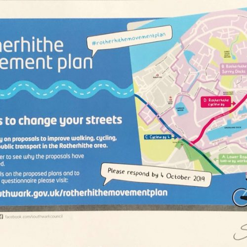 Rotherhithe Movement Plan consultation online