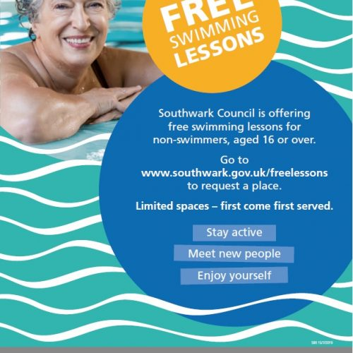 Can't swim? Don't miss Southwark free swimming lessons