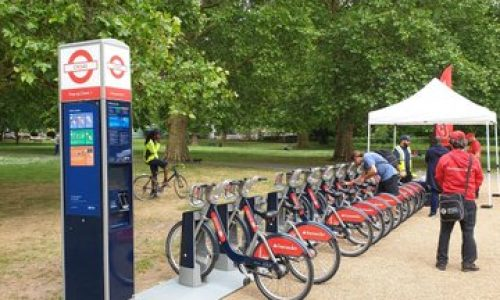 Santander Bikes expansion to Rotherhithe and Bermondsey