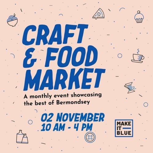 Make It Blue Market, a new monthly destination for craft and food