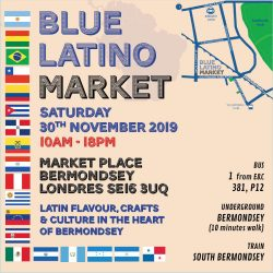 Monthly Blue Latino Market returns on February 2020